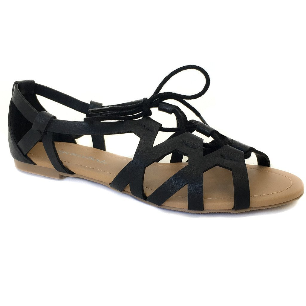Island Hop Sandals In Black