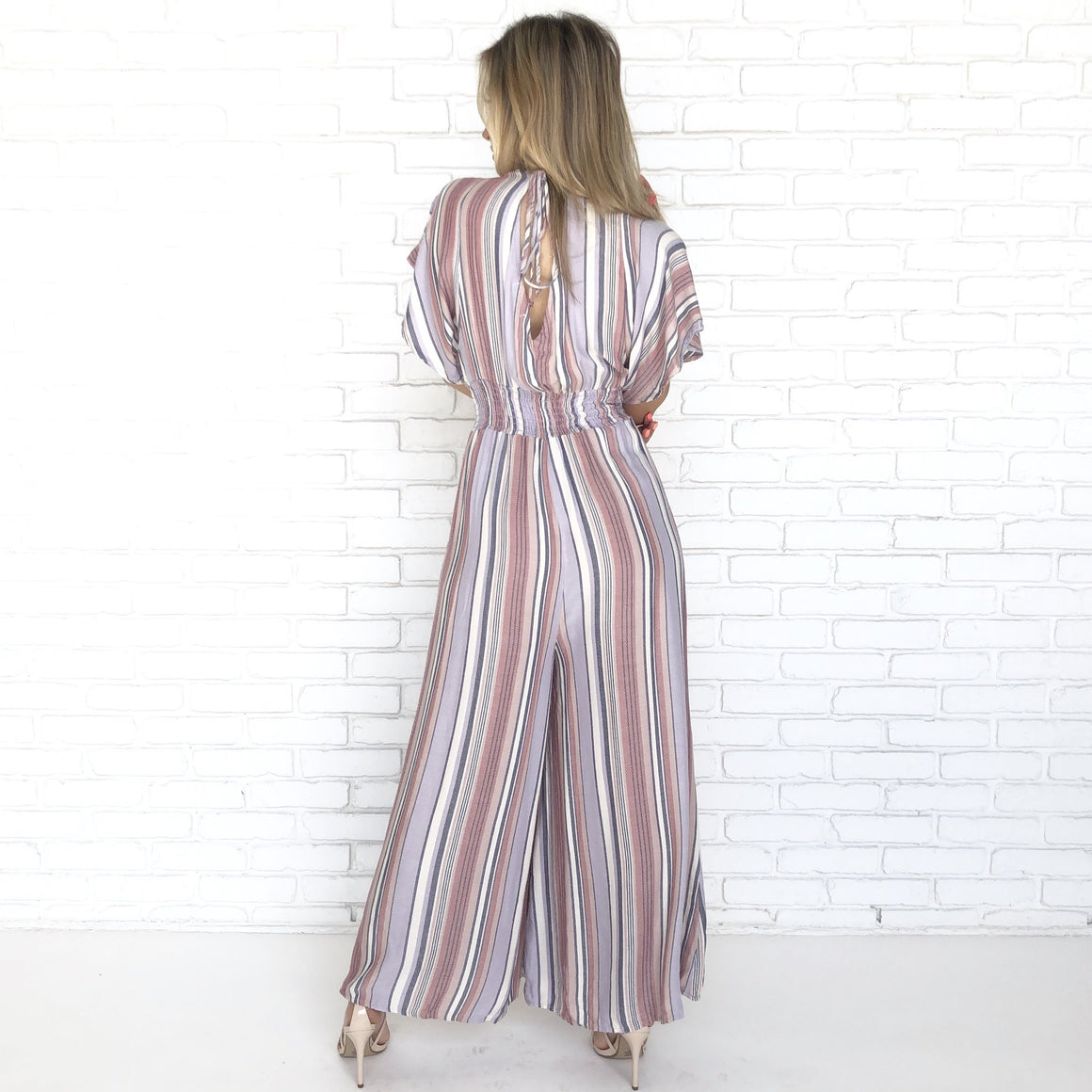 Love Potion Stripe Jumpsuit - Dainty Hooligan