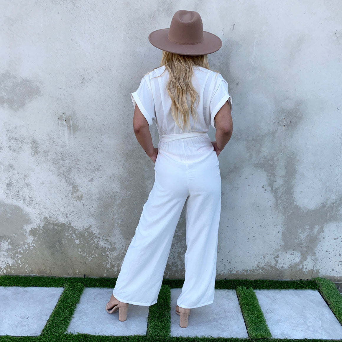 Go The Extra Mile Dolman Jumpsuit