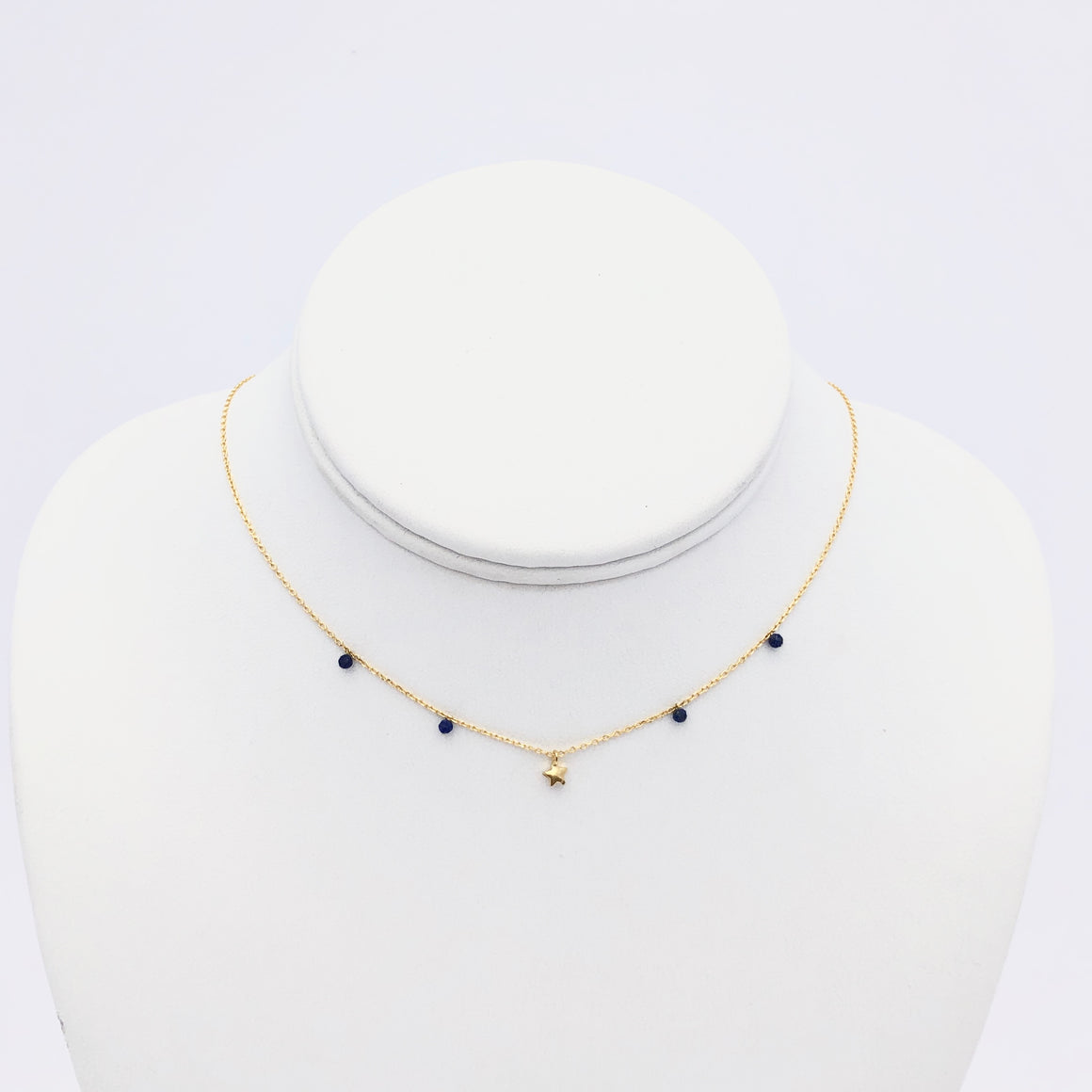 Lonely In The Sky Gold Necklace