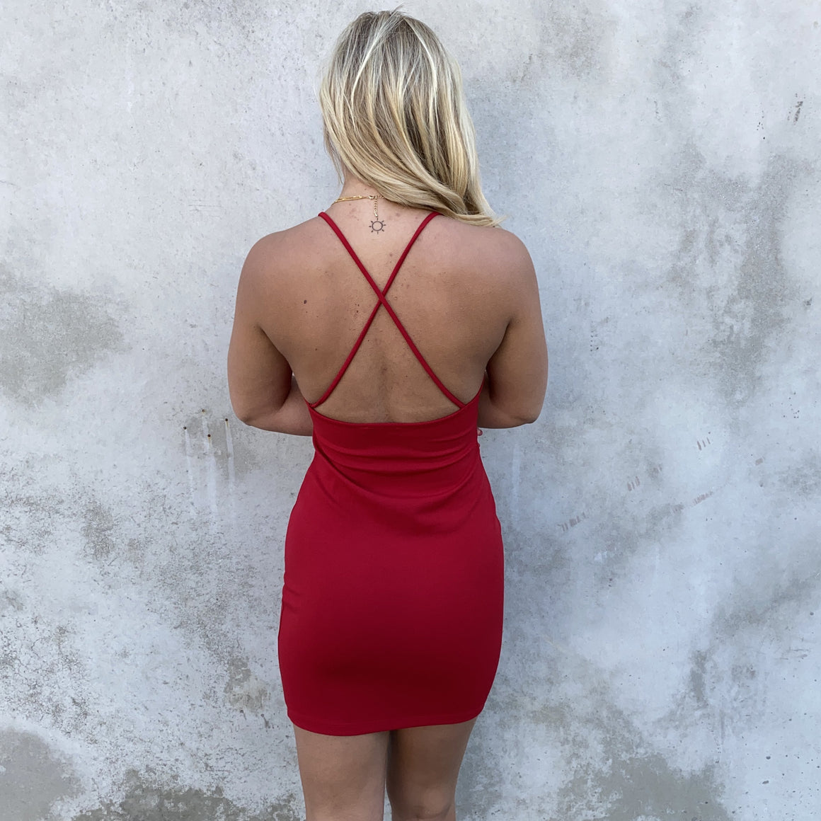 Confidence Strikes Back Red Bodycon Dress