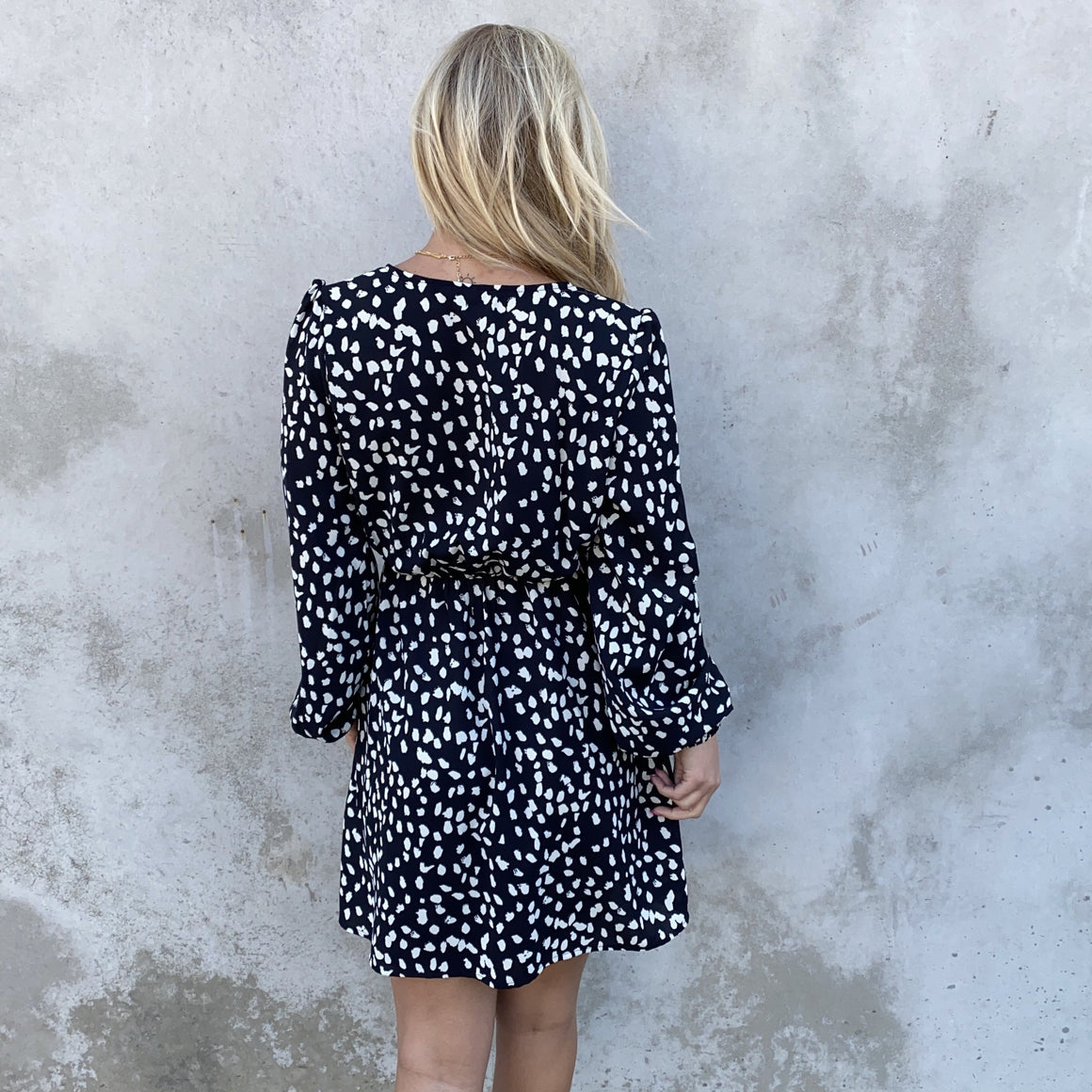 Wild About It Wrap Dress