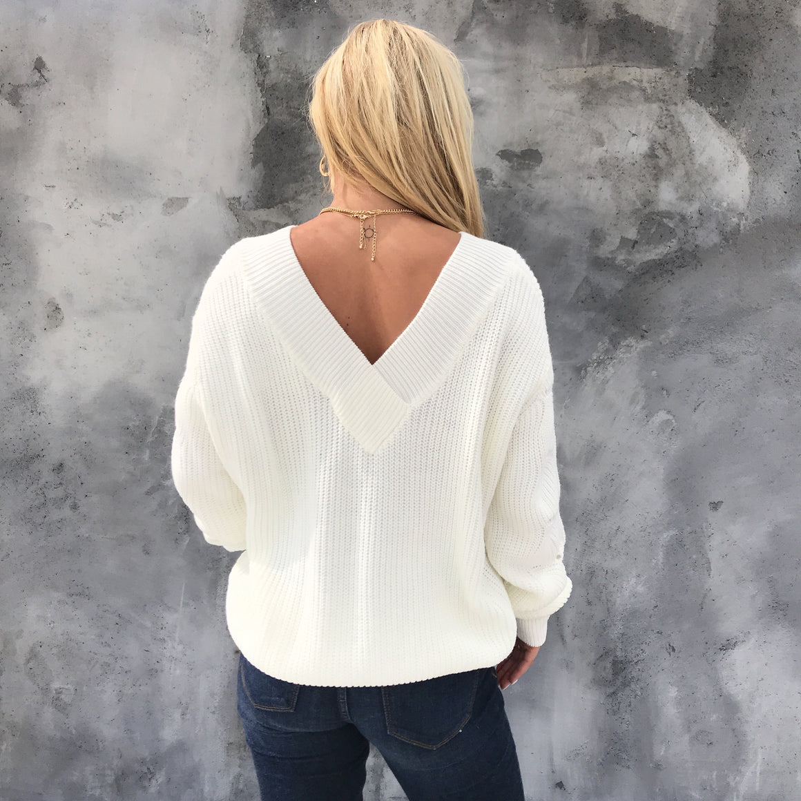 Sweet Snow Knit Sweater - Dainty Hooligan