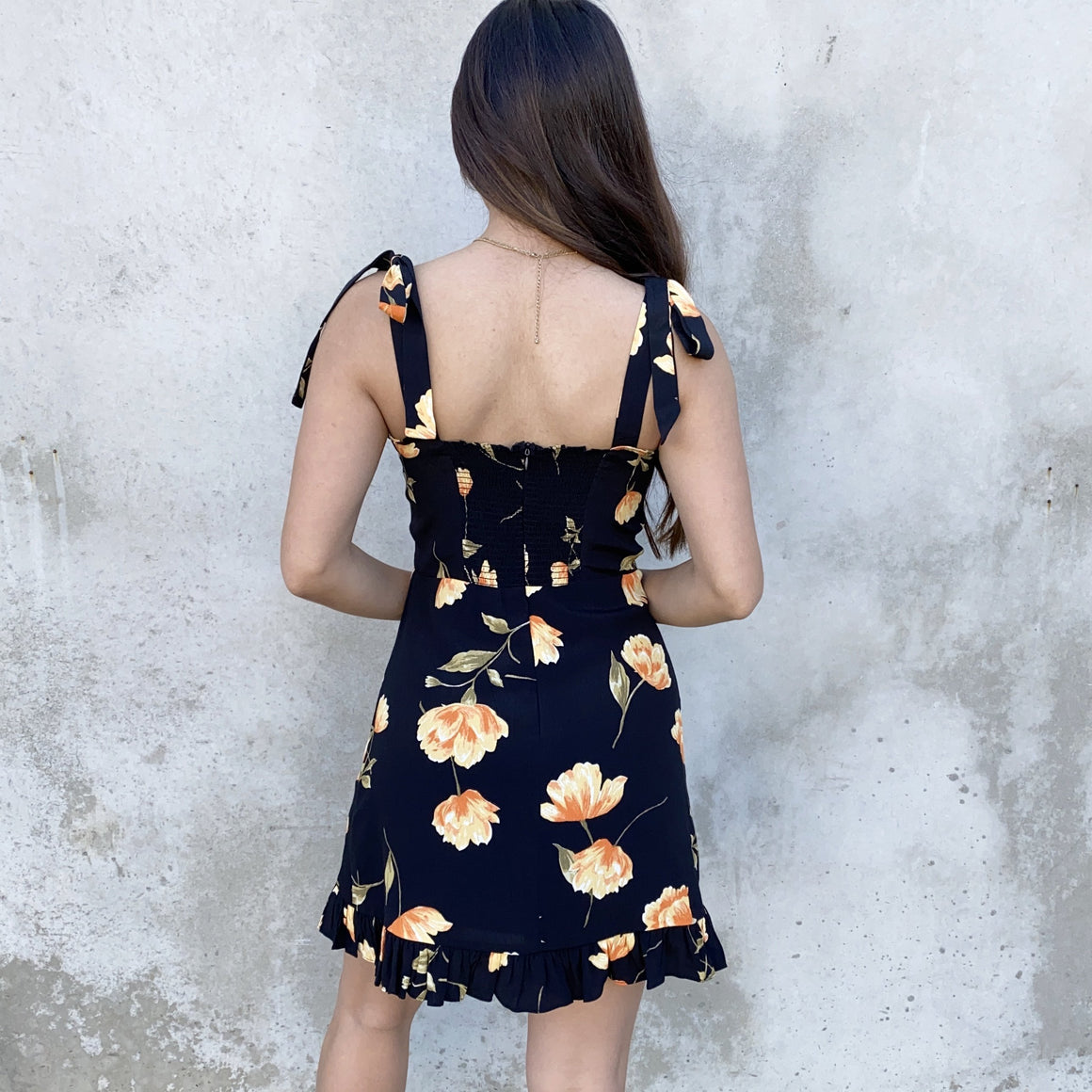 Set The Stage Floral Skater Dress
