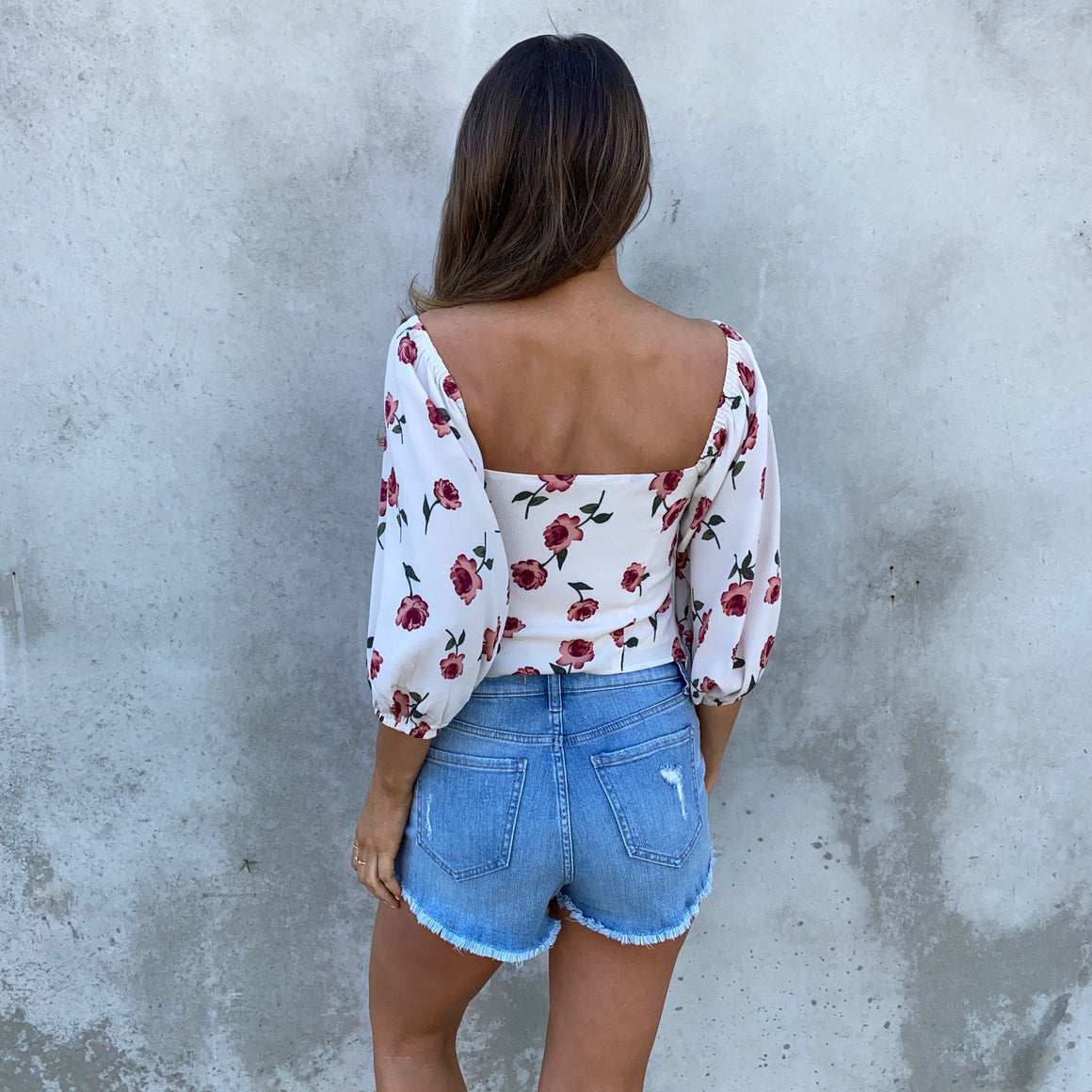 Turn of Events Floral Crop Top - Dainty Hooligan