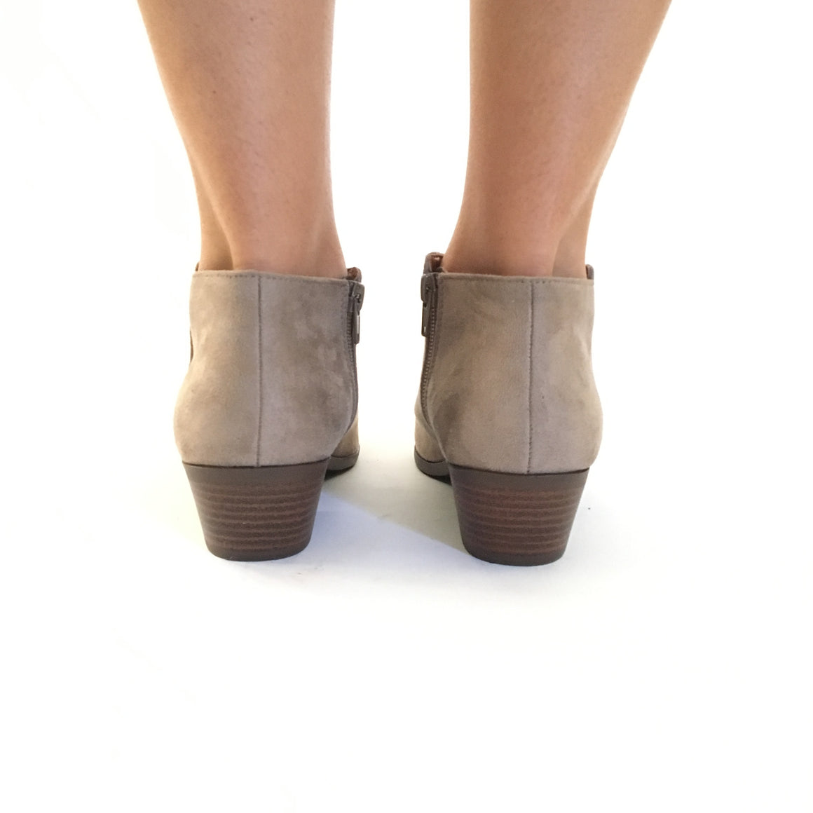 Walk In My Shoes Booties In Clay
