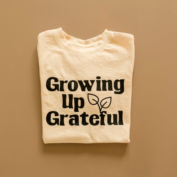 Growing Up Grateful tee