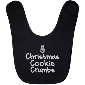 Christmas Cookie Crumbs Bib