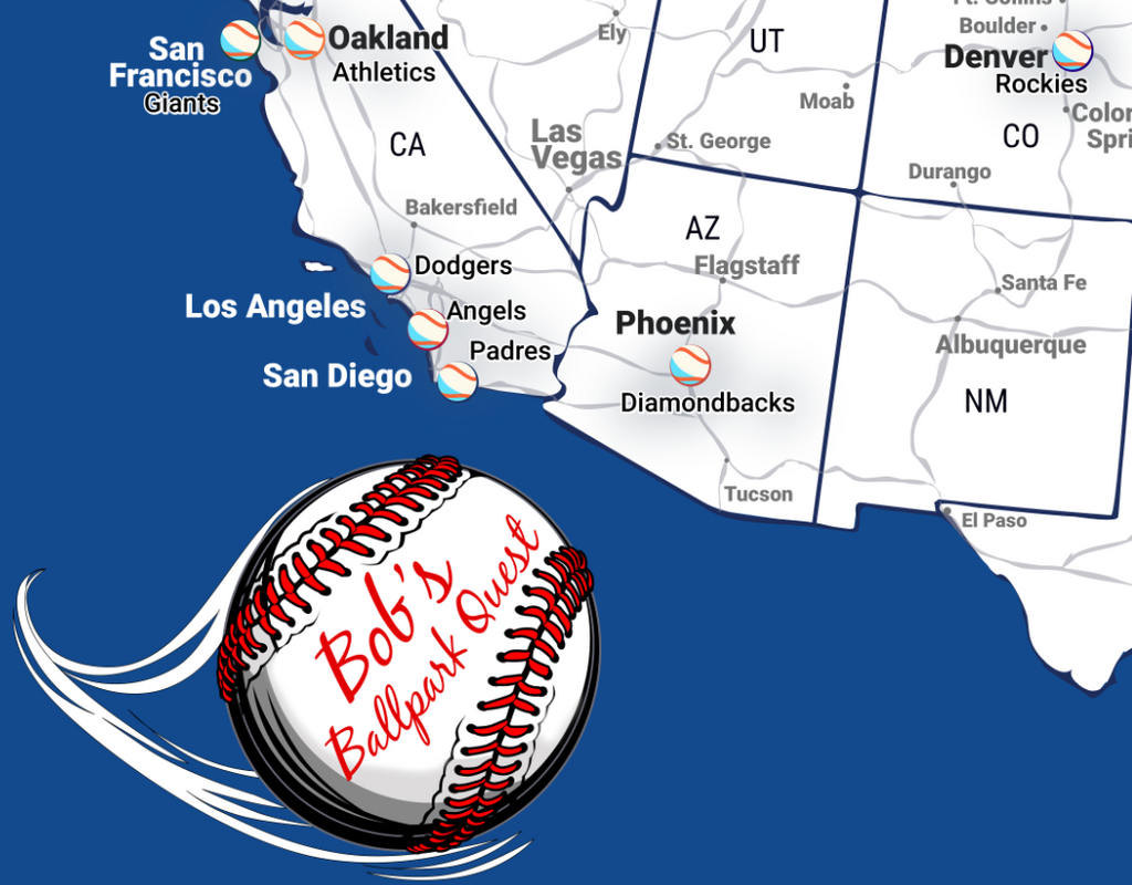 Custom Baseball Map