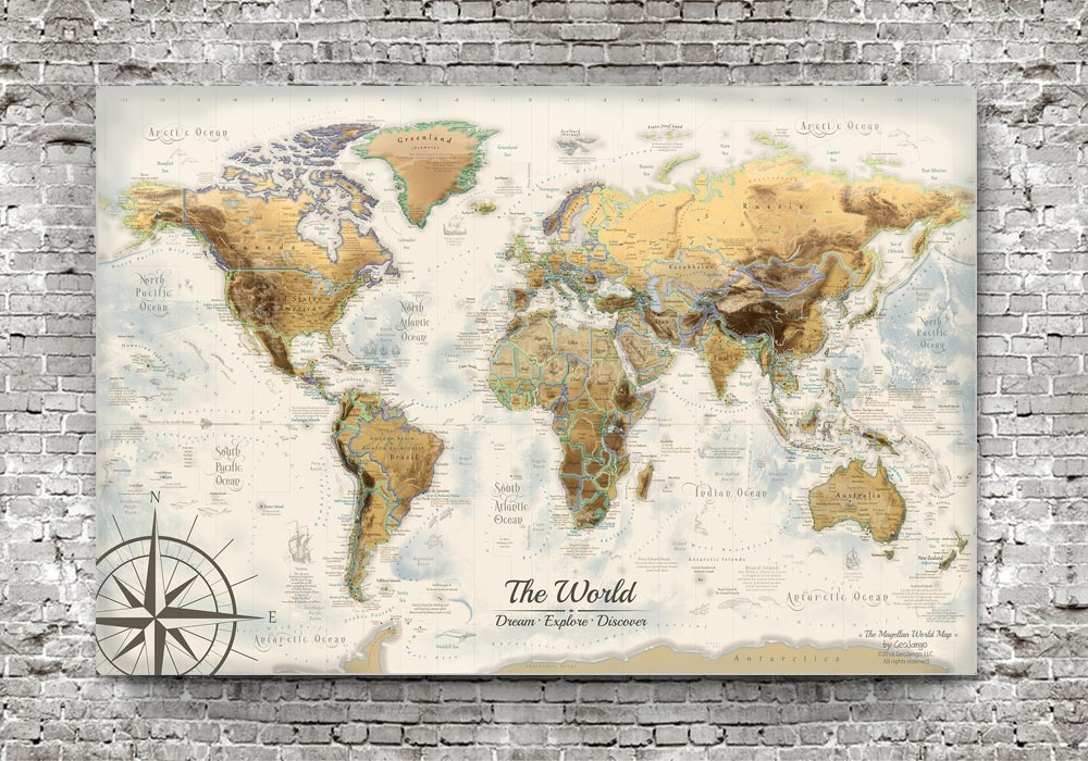 Map Poster of the World