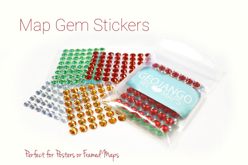 Map Stickers - Gem Sticker