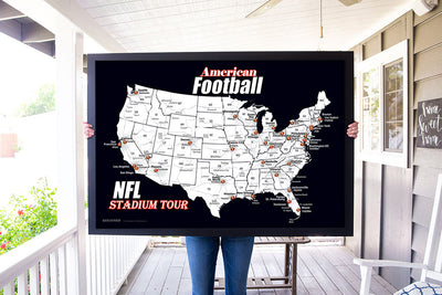 NFL Team Map