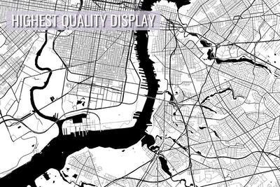 Philadelphia City Map Poster