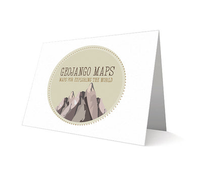 Personalized Map Card