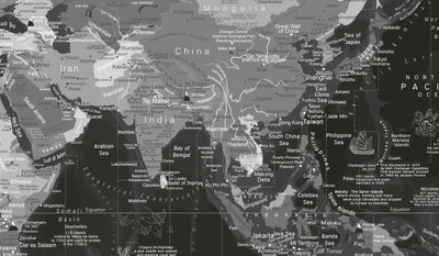 asia on world map