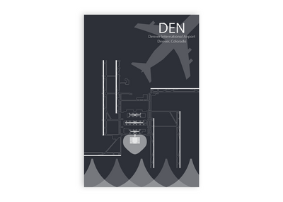 den airport map