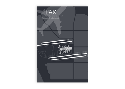 maps los angleles airport