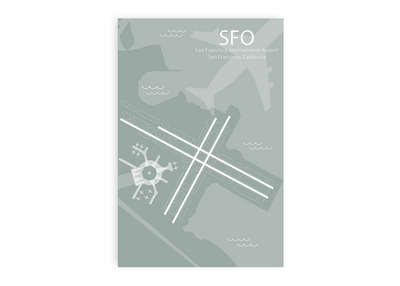 map sfo airport