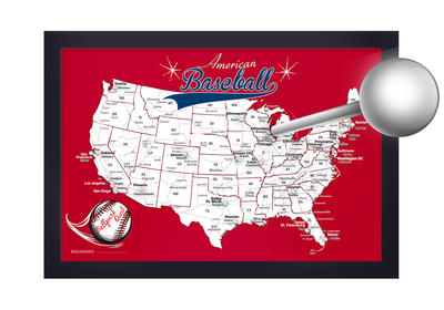 baseball pin map