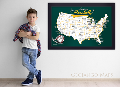 Oakland Athletics Stadium Map