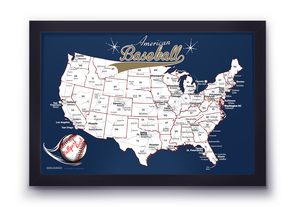 Milwaukee Brewers Map