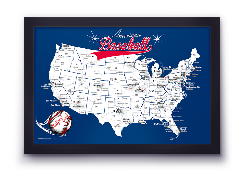 Los Angeles Dodgers Map