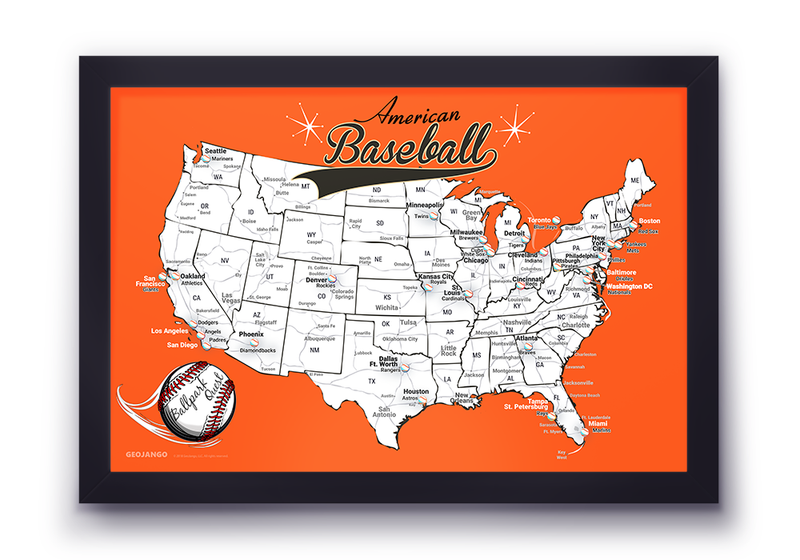 San Francisco Giants Map