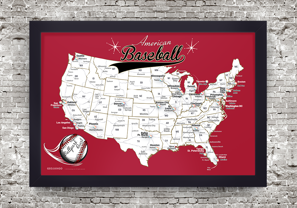 Arizona Diamondbacks Map