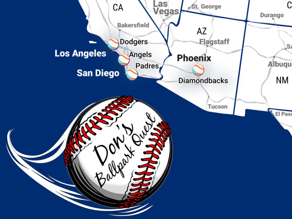 custom baseball stadium map