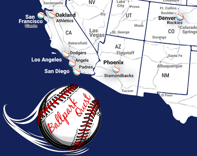 maps for baseball fans