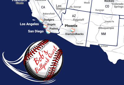 baseball stadium maps