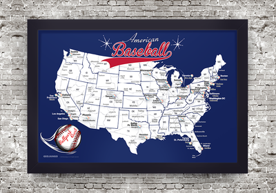 Nationals baseball stadium map