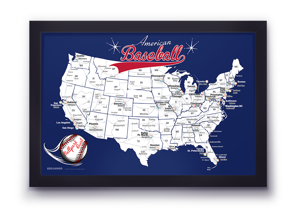Washington Nationals Map