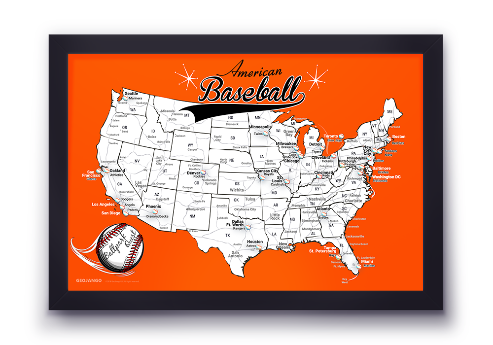 Baltimore Orioles Map