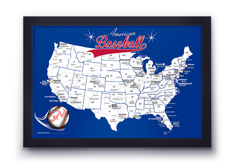 Philadelphia Phillies Map
