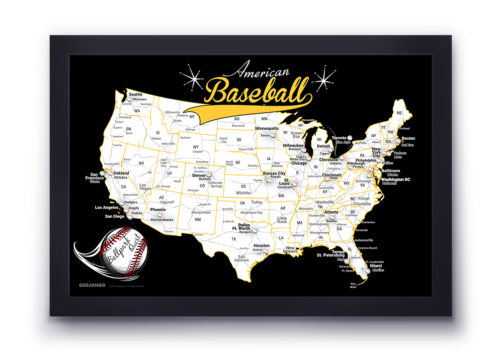 Pittsburgh Pirates Map