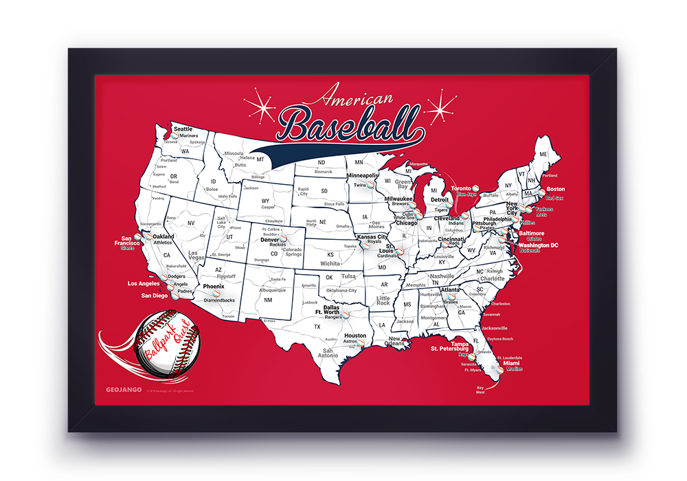 Boston Red Sox Map