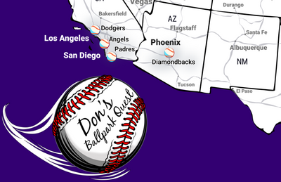 personalized baseball stadium map