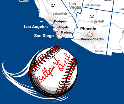 mlb stadiums map