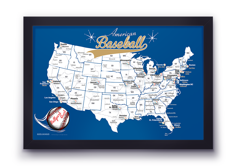 Baseball Stadium Map