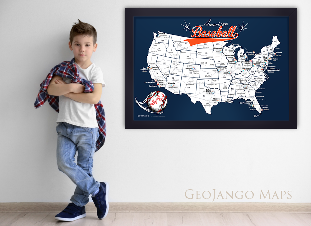 Detroit Tigers Map
