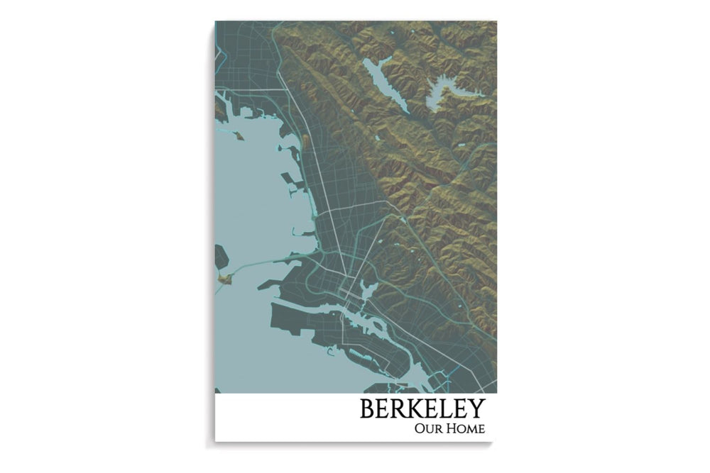 berkeley print map