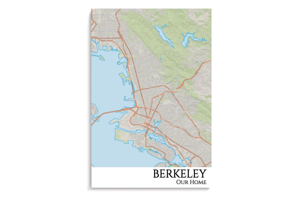 map of custom berkeley
