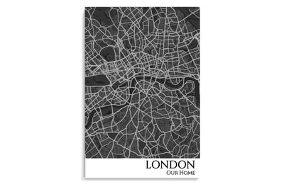 London City Map Poster