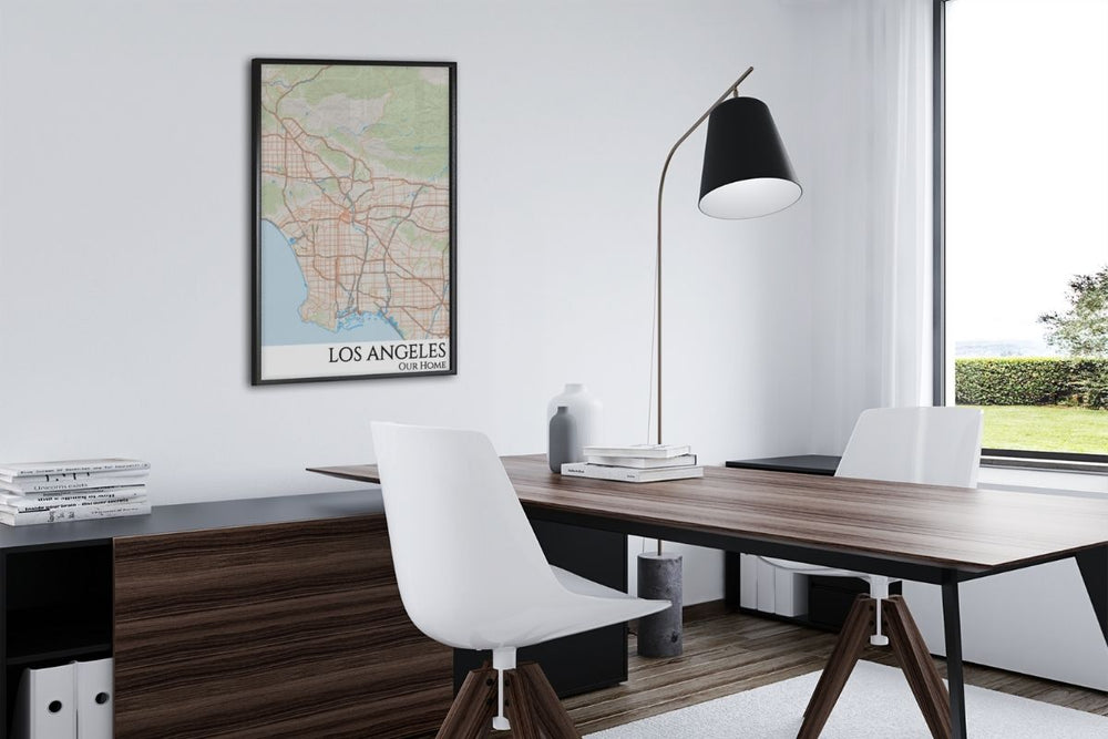 los angeles city map office