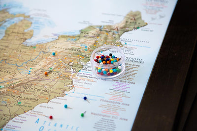 push pins for us map