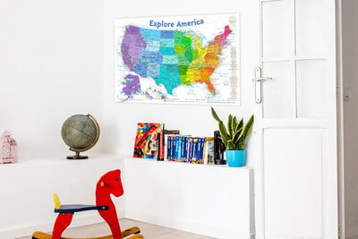 rainbow united states kids map