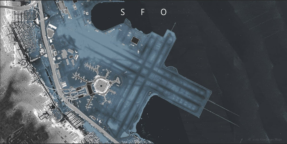 sfo airport map