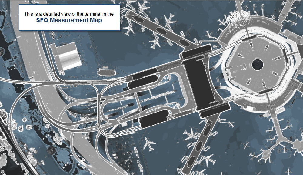 map of sfo airport