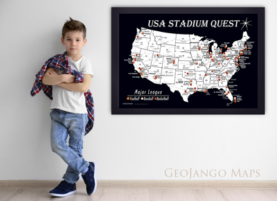 Football Stadium map